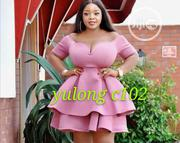 Yu Long Fitted Two Steps Short Gown | Clothing for sale in Lagos State, Ikeja