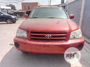 Toyota Highlander 2002 Red | Cars for sale in Lagos State, Yaba