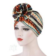Colorful Flower Turban Hat Indian Headdress Cap   Clothing Accessories for sale in Lagos State, Ifako-Ijaiye