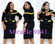 Miracle Women Office Wear With Front Zip | Clothing for sale in Lagos State, Ikeja