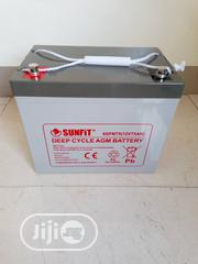 Quality 12V 75ahs Sunfit Battery | Solar Energy for sale in Oyo State, Ibadan