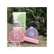 Foldable USB Rechargable Mini Hand Fan With Battery | Home Accessories for sale in Lagos State, Ikeja