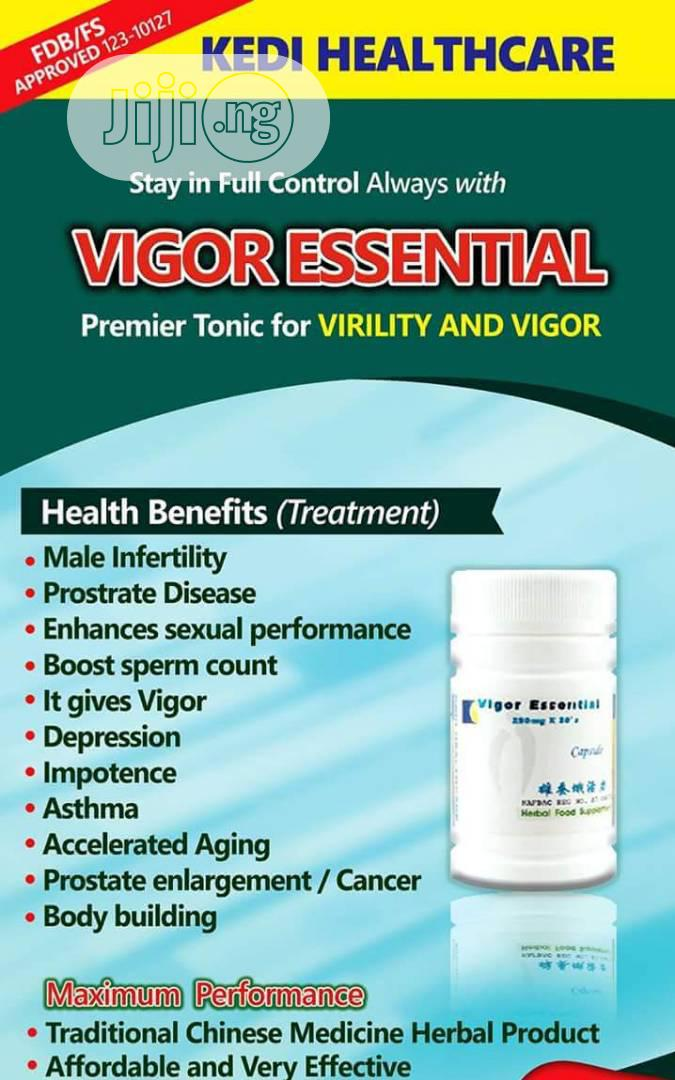 Vigor Essential For Low Sperm Count And Prostate Disease