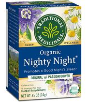 Traditional Medicinals Organic Nighty Night Tea - 16 Tea Bags | Vitamins & Supplements for sale in Lagos State, Lekki Phase 1