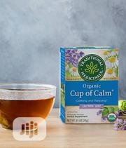 Traditional Medicinals Organic Cup Of Calm Tea - 16 Tea Bags | Vitamins & Supplements for sale in Lagos State, Lekki Phase 1