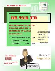 Registration Of Company/Business Name | Legal Services for sale in Lagos State, Ikeja