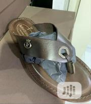 Fine Quality Italian Leather Sandals Slippers   Shoes for sale in Lagos State, Surulere