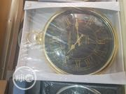 Wall Clock Gold Fab Pocket Watch Style Whitechapel London Large Round | Home Accessories for sale in Lagos State, Lekki Phase 2
