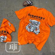 Authentic Burberry T-Shirts(Orange, Yellow, Black, White) | Clothing for sale in Lagos State, Alimosho