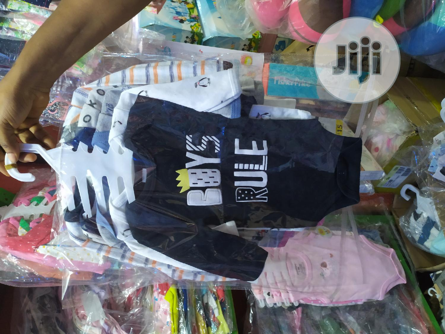 Baby 5 In 1 Body Suit | Children's Clothing for sale in Alimosho, Lagos State, Nigeria