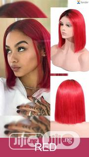 Red Coloured Brazilian Human Hair   Hair Beauty for sale in Lagos State, Ajah