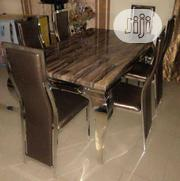 High Quality Marble Dining Table With Six Chair | Furniture for sale in Lagos State, Ikeja