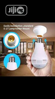 Wireless Bulb CCTV Camera With Wi-fi Signals And Motion Detection | Security & Surveillance for sale in Delta State, Oshimili South