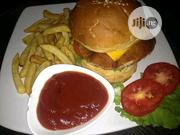 Chicken Burger With Chips | Party, Catering & Event Services for sale in Lagos State, Ikeja