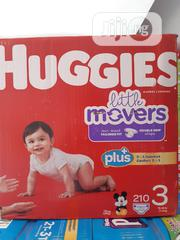 Huggies Little Movers (210 Counts) Size 3 | Baby & Child Care for sale in Lagos State, Ikeja