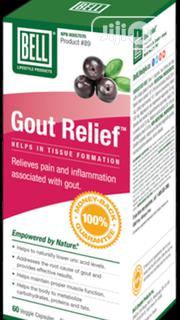 Gout Relief - Reduces Uric Acid Naturally and Relieves Pains Inflammtn | Vitamins & Supplements for sale in Lagos State, Ikeja