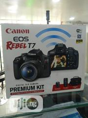 Canon EOS Rebel T7 18-55mm+75-300mm+Bag (Premium Kit) | Photo & Video Cameras for sale in Lagos State, Ikeja