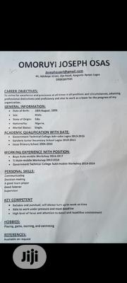 NYSC HR/Admin Officer | Clerical & Administrative CVs for sale in Lagos State, Apapa