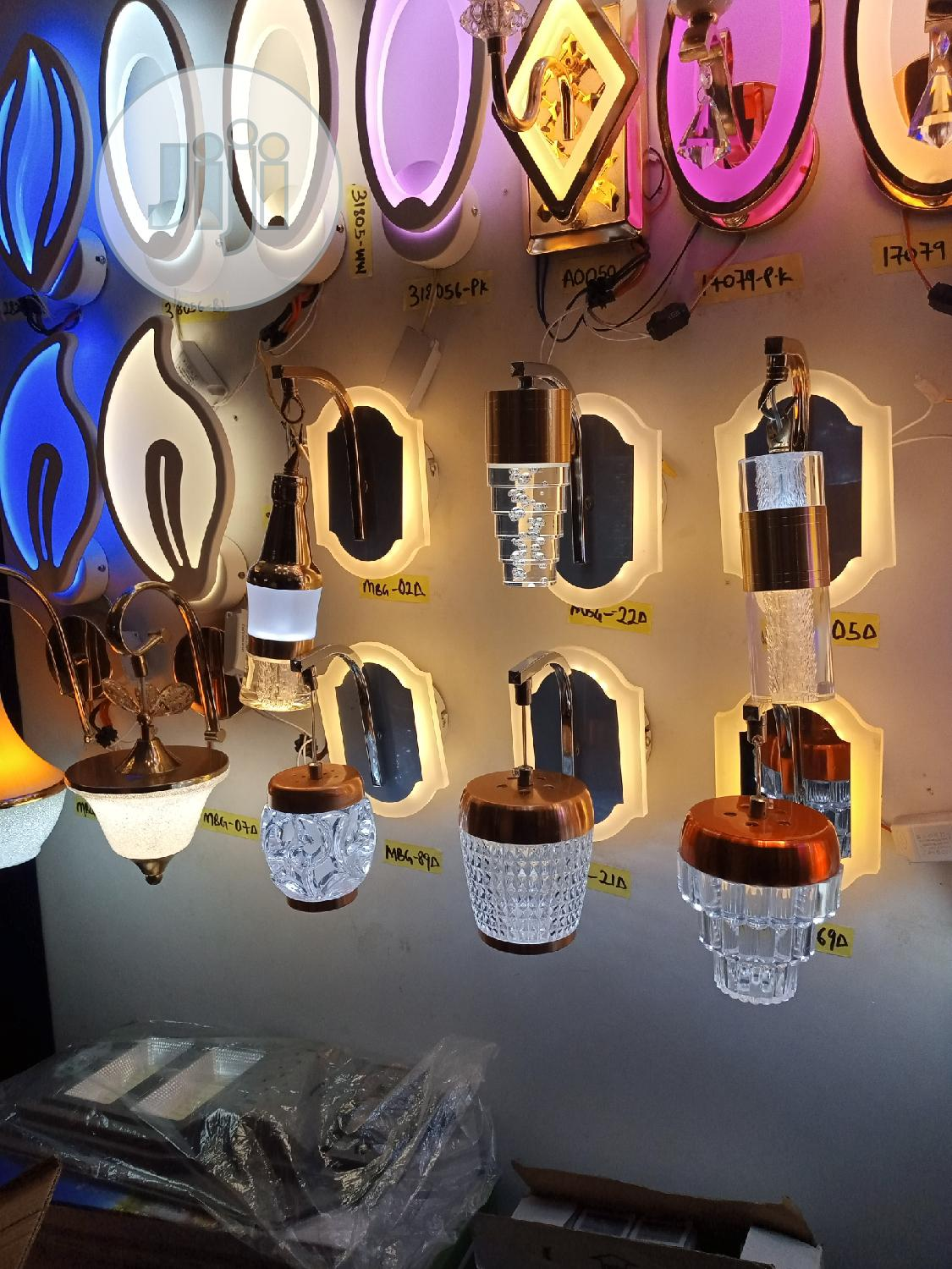 Led Double Colours Wall Lights