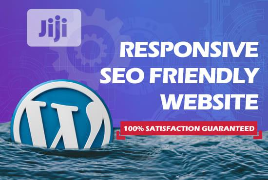 Create Your Attractive And Responsive SEO Friendly Website