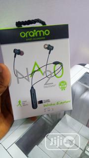 Oraimo NA20 Wireless Sports Bluetooth Neckband | Headphones for sale in Lagos State, Ikeja