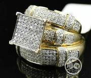 3PCS Luxury White Sapphire Rings Set 925 Silver | Jewelry for sale in Rivers State, Port-Harcourt