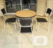 New Design Imported Wooden Round Table With 4 Chairs | Furniture for sale in Kano State, Kumbotso