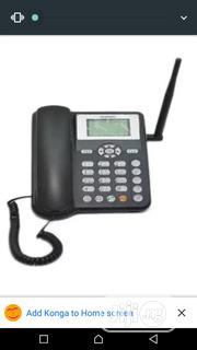 Huawei ETS 5623 GSM SIM Office Table Phone - Black | Home Appliances for sale in Lagos State, Ikeja