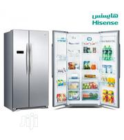 Hisense Side By Side Refrigerator Rs-67wsi | Kitchen Appliances for sale in Lagos State, Ojo