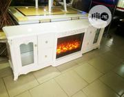 A High Class 2-meeter Fire Fram Tv Stand | Furniture for sale in Lagos State, Ajah