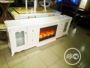 A New Cristal Fire Fram Tv Stand | Furniture for sale in Lagos State, Ikeja