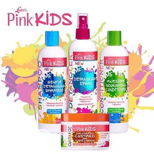 Luster Pink Kids Hair Products