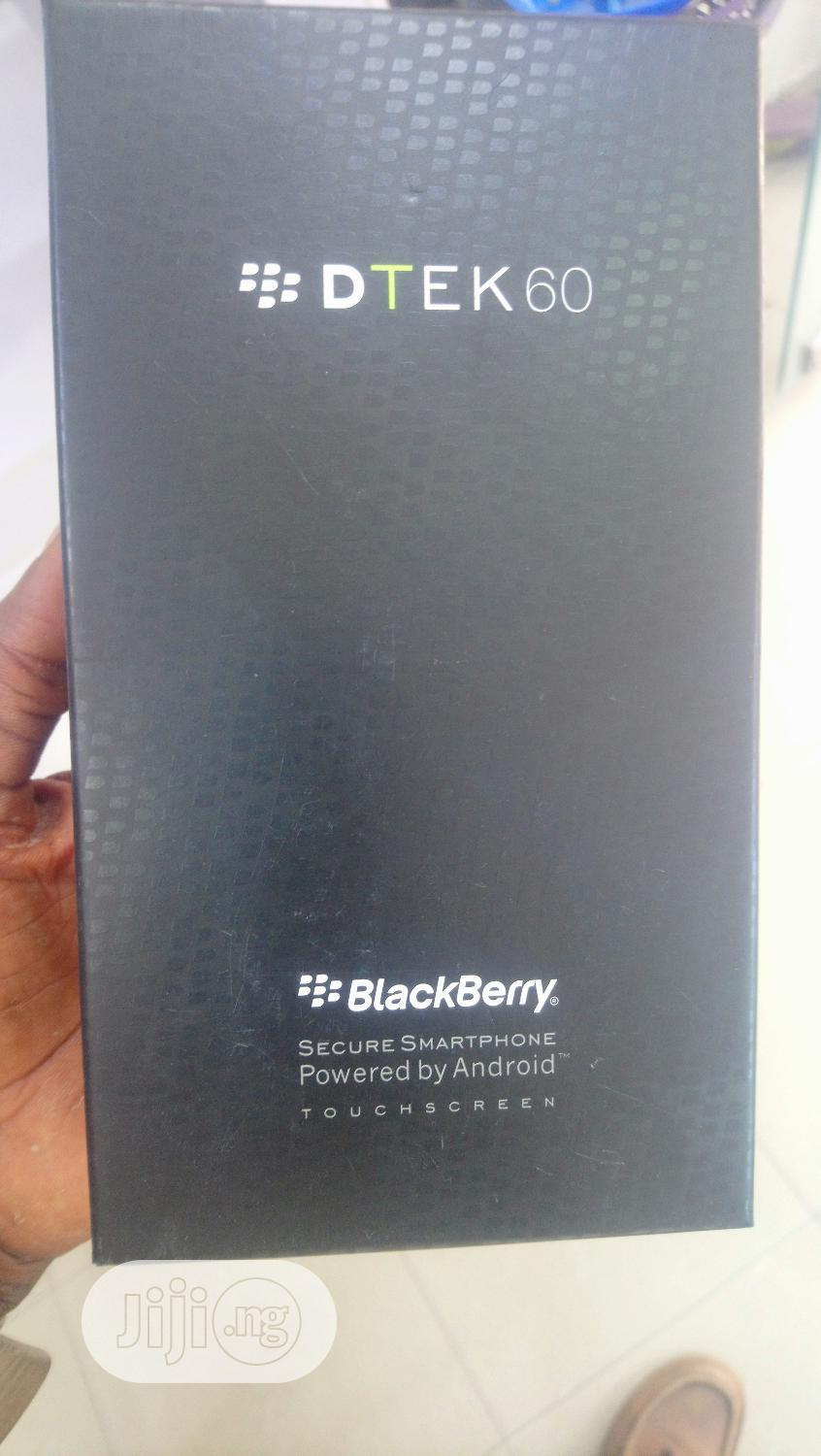 New BlackBerry DTEK60 32 GB | Mobile Phones for sale in Ikeja, Lagos State, Nigeria