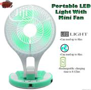 Portable Led With Mini Fan | Home Appliances for sale in Lagos State, Lagos Island