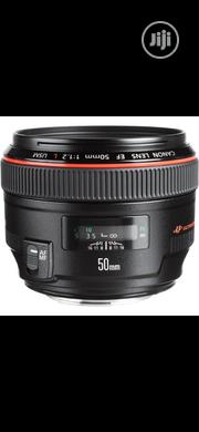 Canon EF 50mm F/1.2L USM | Accessories & Supplies for Electronics for sale in Lagos State, Ikeja