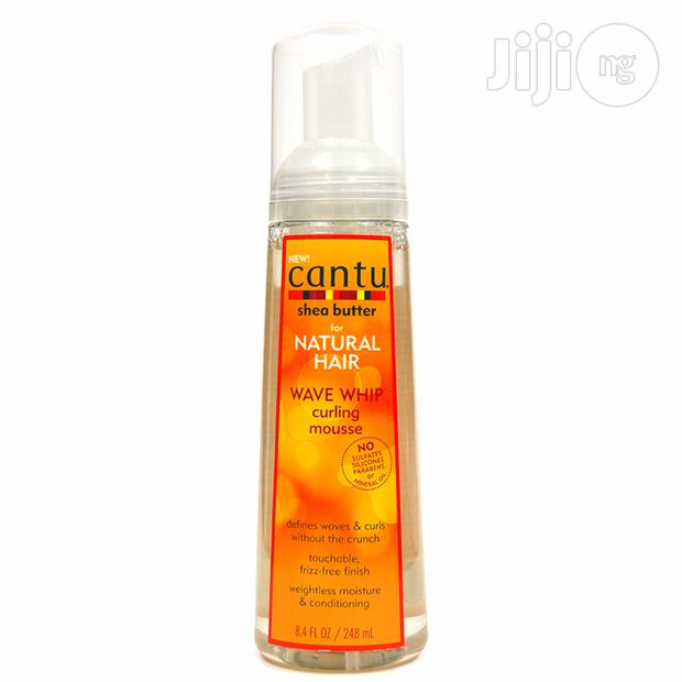 Cantu Shea Butter Wave Whip Curling Mousse