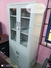 Half Glass And Half Metal Filling Cabinet | Furniture for sale in Lagos State, Ojo