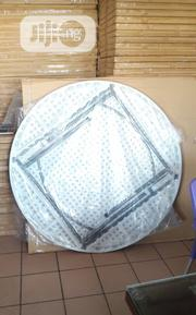 5fit Round Plastic Top Table With Metal Le | Furniture for sale in Lagos State, Ojo