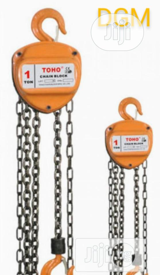 Chain Block TOHO 1ton