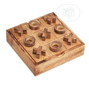 USA 5x5 Wood Tic Tac Toe Handmade Naughts And Cross XOXO | Travel Game | Books & Games for sale in Lagos State, Alimosho