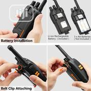 Walkie Talkies Rechargeable Long Range -FRS Two Way Radio SOS Alarm | Audio & Music Equipment for sale in Lagos State, Ikeja