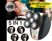 5-in-1 Electric Shavers Wet Dry Rotary And Beauty Set | Tools & Accessories for sale in Lagos State, Lagos Island