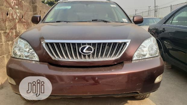 Archive: Lexus RX 2008 350 AWD Red