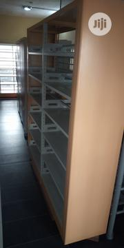 Metal Library Shelves Double 6 By 7 Feet | Furniture for sale in Lagos State, Lagos Island