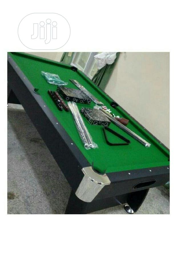 Archive: 8ft Snooker Pool Table With Complete Acessories