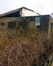 Half Plot of Land With Three Bedroom Flat Ensuite Upto Roofing Level | Houses & Apartments For Sale for sale in Lagos State, Ikorodu