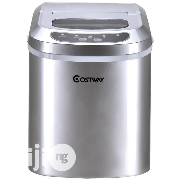COSTWAY Ice Maker For Countertop & Compact Ice Maker ...
