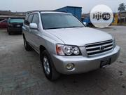 Toyota Highlander 2001 2.4 Silver   Cars for sale in Lagos State, Ipaja