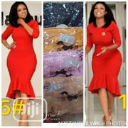 Quality Lady Fitted Red Gown | Clothing for sale in Lagos State, Surulere
