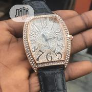 Frank Muller Iced Head, Leather Watch For Men And Women.   Watches for sale in Lagos State, Lagos Island